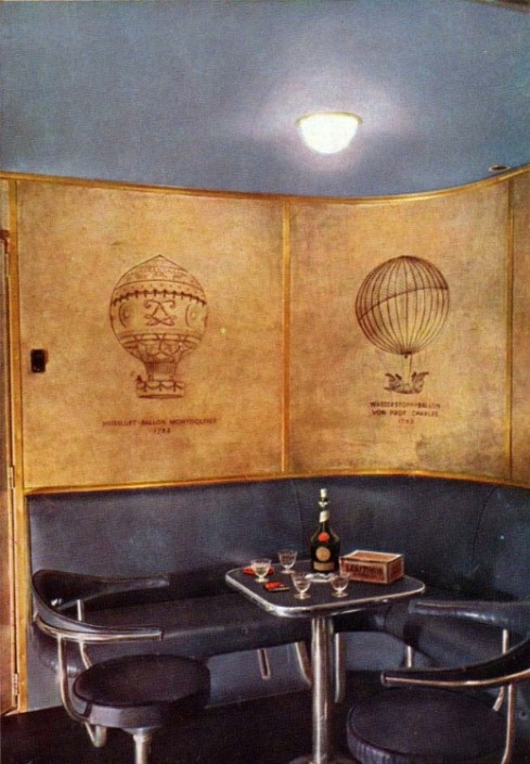 Hindenburg smoking room