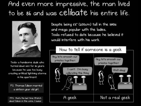 Tesla Celibacy