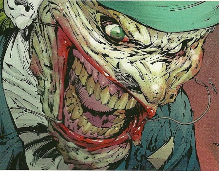 Joker's face
